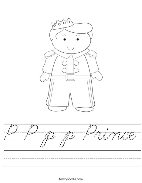 Prince Worksheet