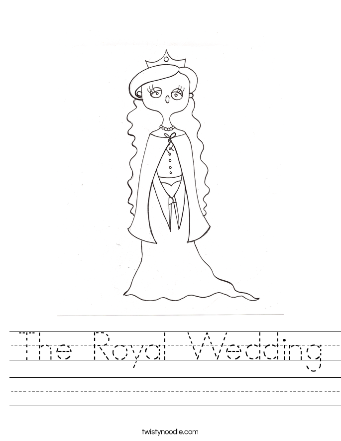 The Royal Wedding Worksheet