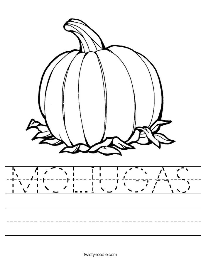 MOLIUGAS Worksheet