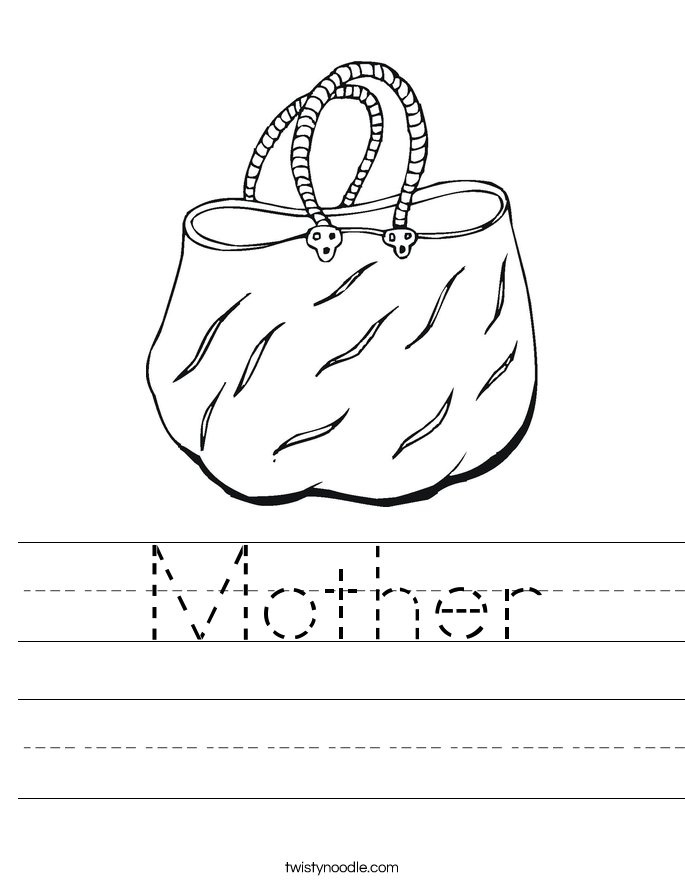 Mother Worksheet