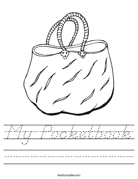 Handbag Worksheet