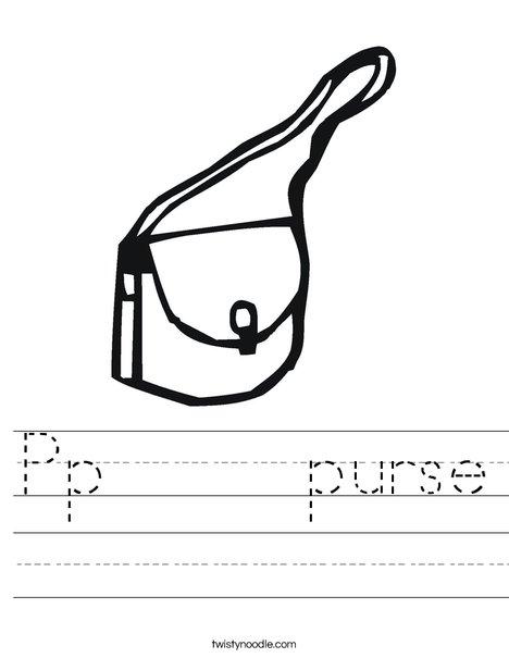 Purse Worksheet