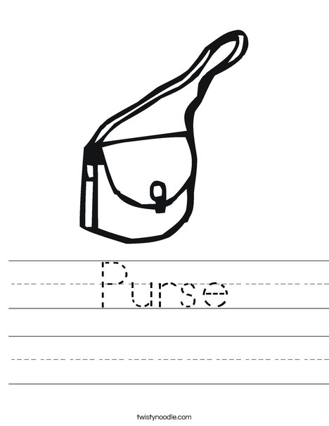 Purse Worksheet
