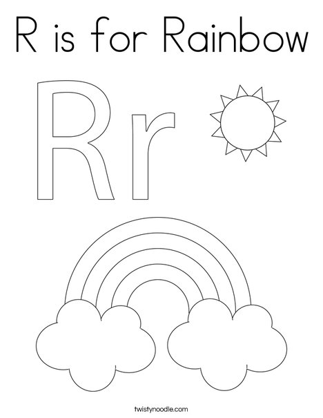 rainbows coloring sheets