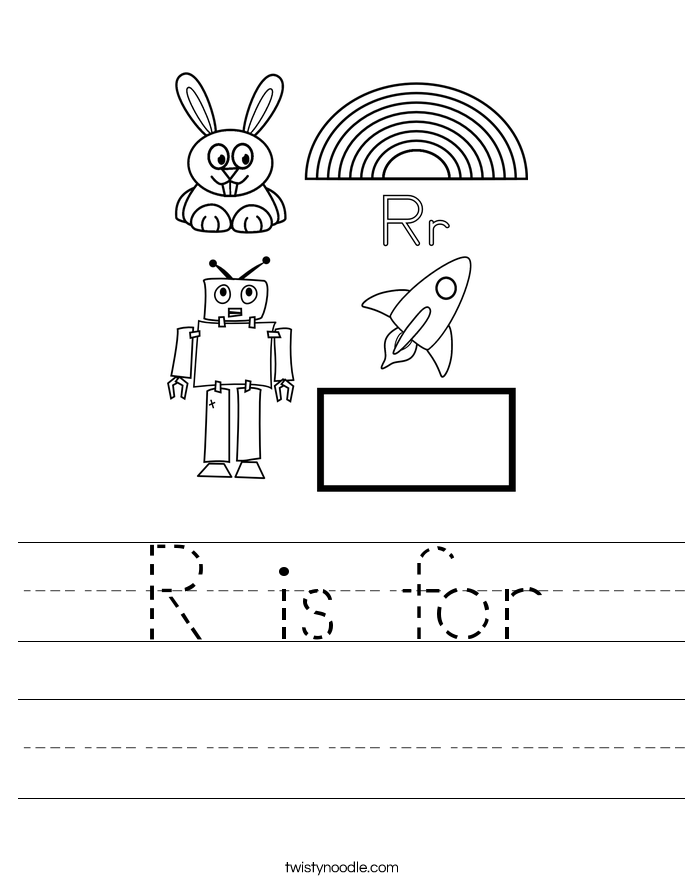 R is for Worksheet