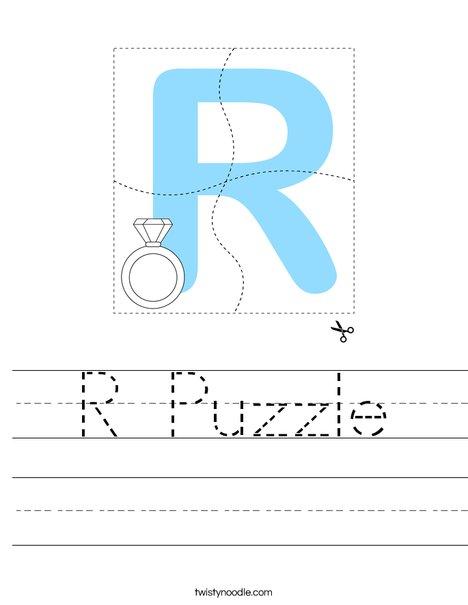R Puzzle Worksheet
