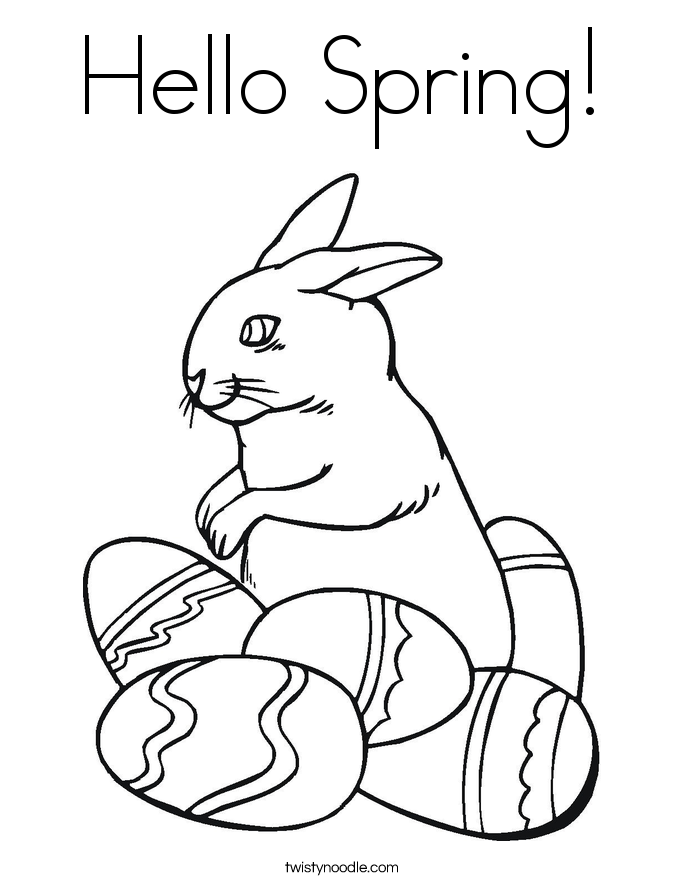 Hop this way Coloring Page - Twisty Noodle