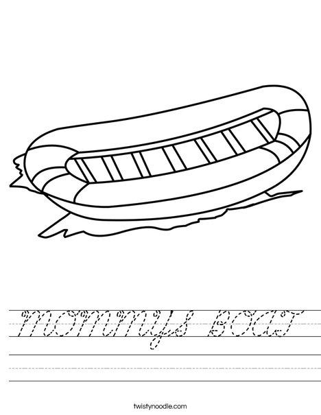 Raft Worksheet
