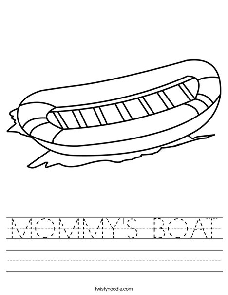Raft Worksheet