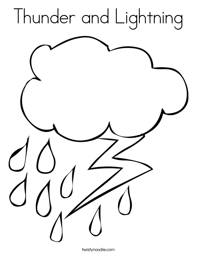lightning coloring pages - photo#2