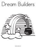Dream Builders Coloring Page