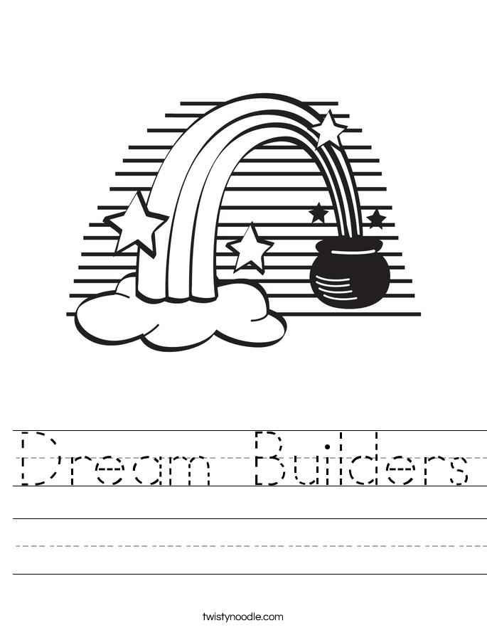 Dream Builders Worksheet