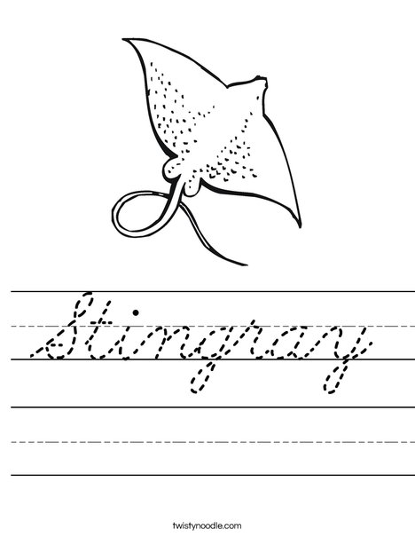 Ray Worksheet