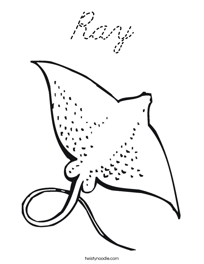 J Is For Jellyfish Coloring Page Coloring Page
