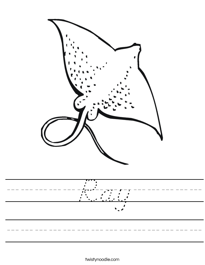 Ray Worksheet