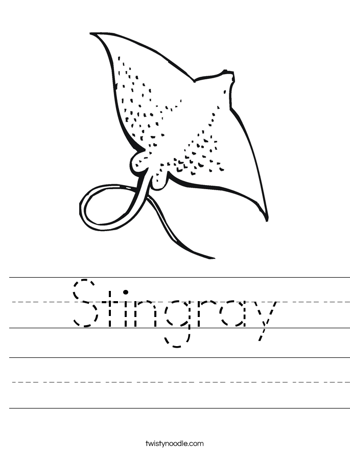 Stingray Worksheet