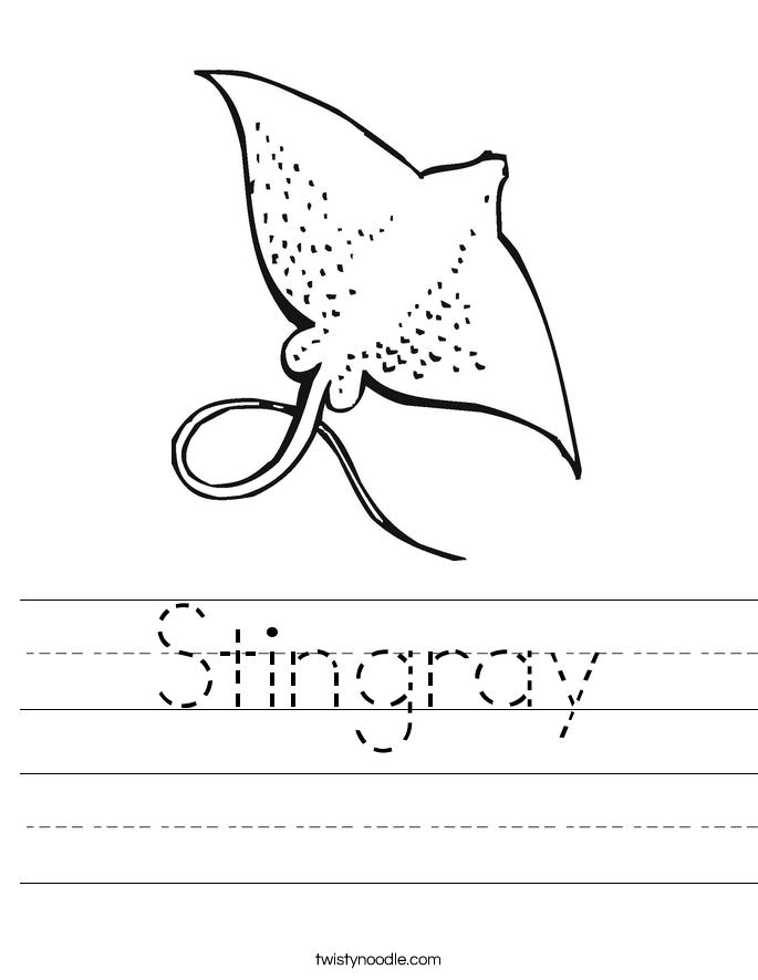 Stingray Worksheet