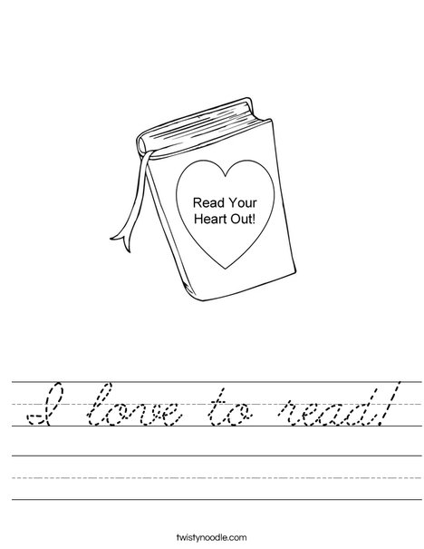 Read your heart out Worksheet