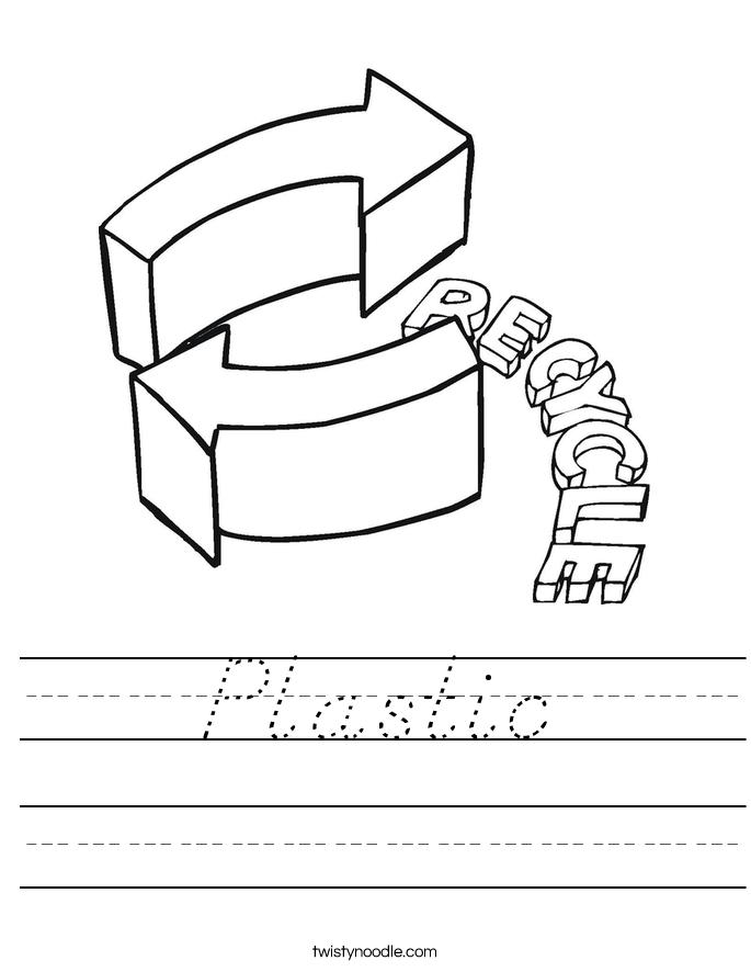 Plastic Worksheet