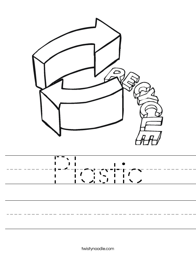 Plastic Worksheet