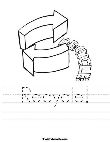 Recycling printables DUŠAN ČECH