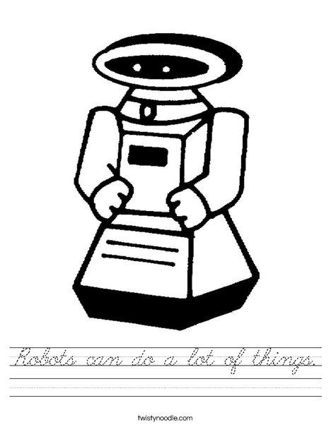 Robot Worksheet