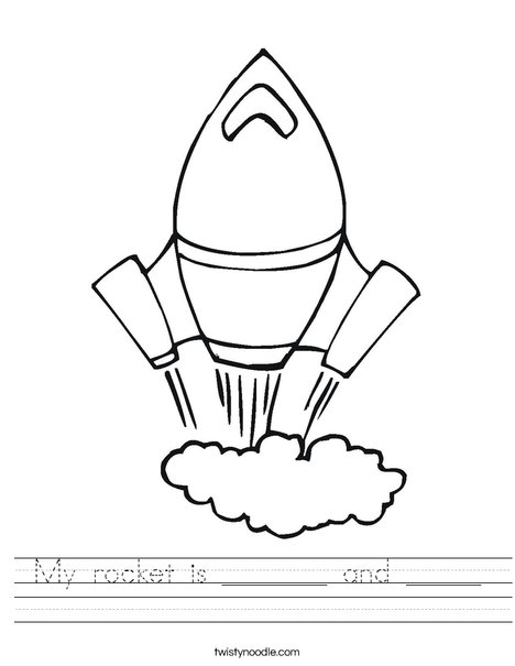 Rocket Worksheet