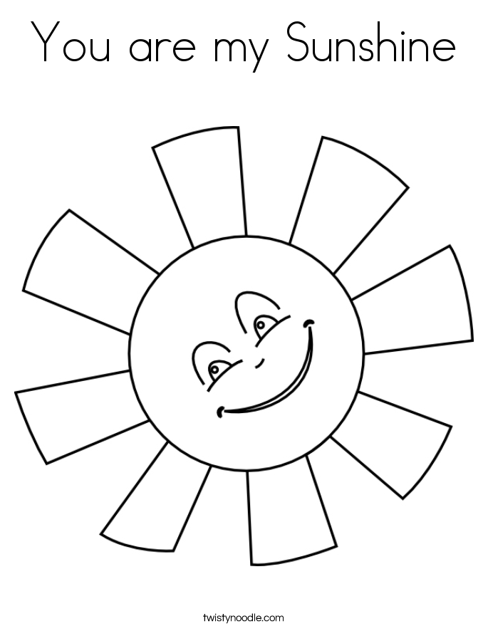 image regarding Printable Sun Template named reduced sunshine template -