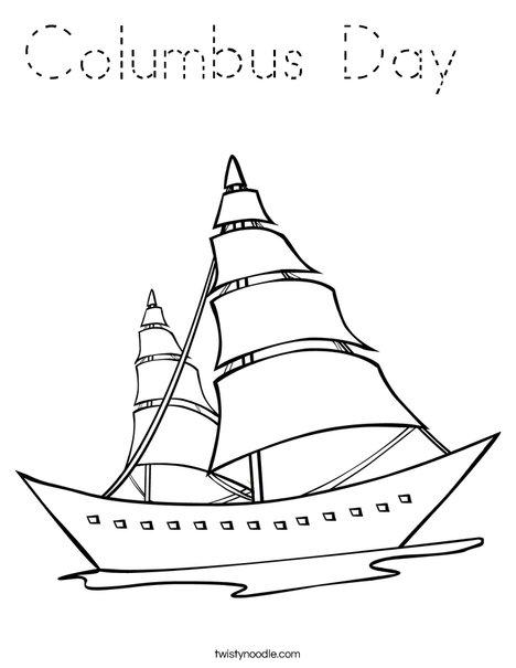 Sailboat Coloring Page