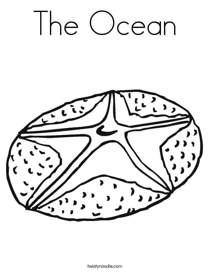 The Ocean Coloring Page