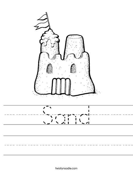 Sandcastle 2 Worksheet