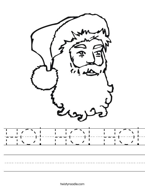 Santa Clause Worksheet