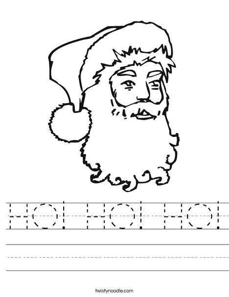 Santa Clause Worksheet