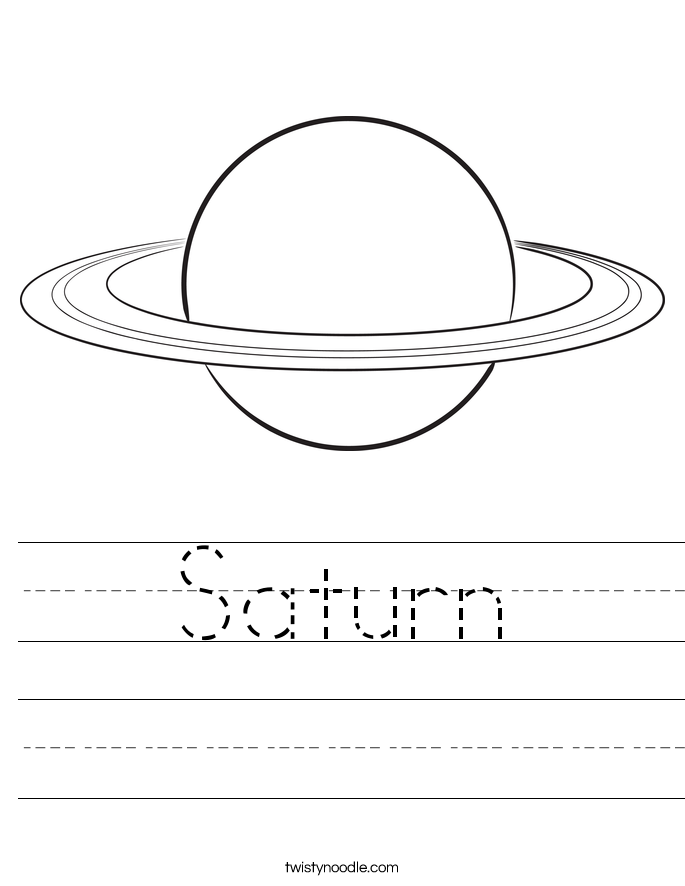 Saturn Worksheet
