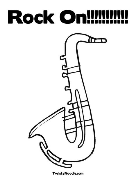 coloring pages of rock bands - photo#33