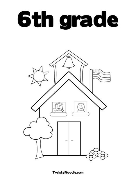 Printable Coloring Pages For 7th Graders : Th grade coloring pages computer technology