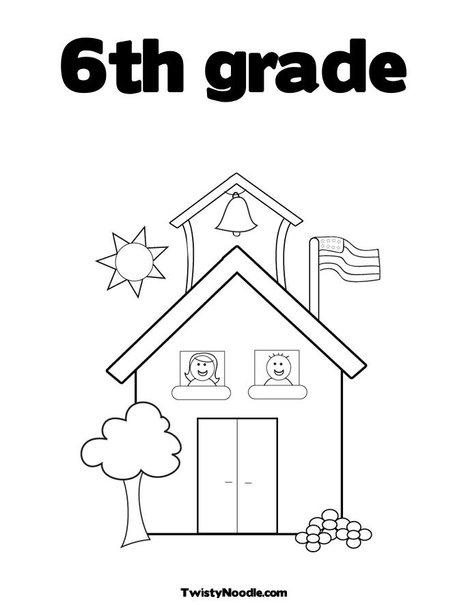 6th Grade Coloring Pages - Kidsuki