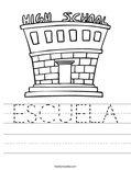 ESCUELA Worksheet