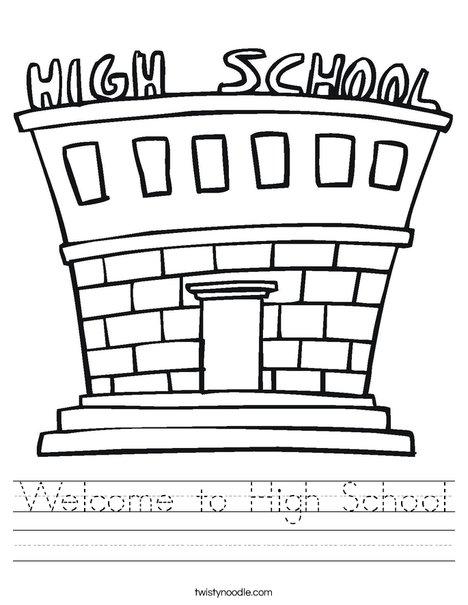 High School Worksheet