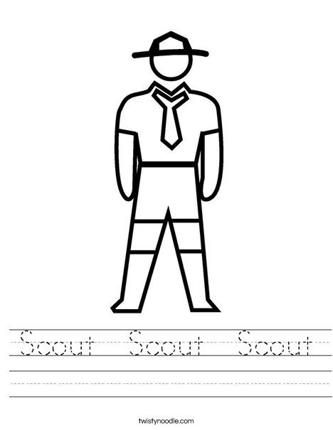 Scout Worksheet