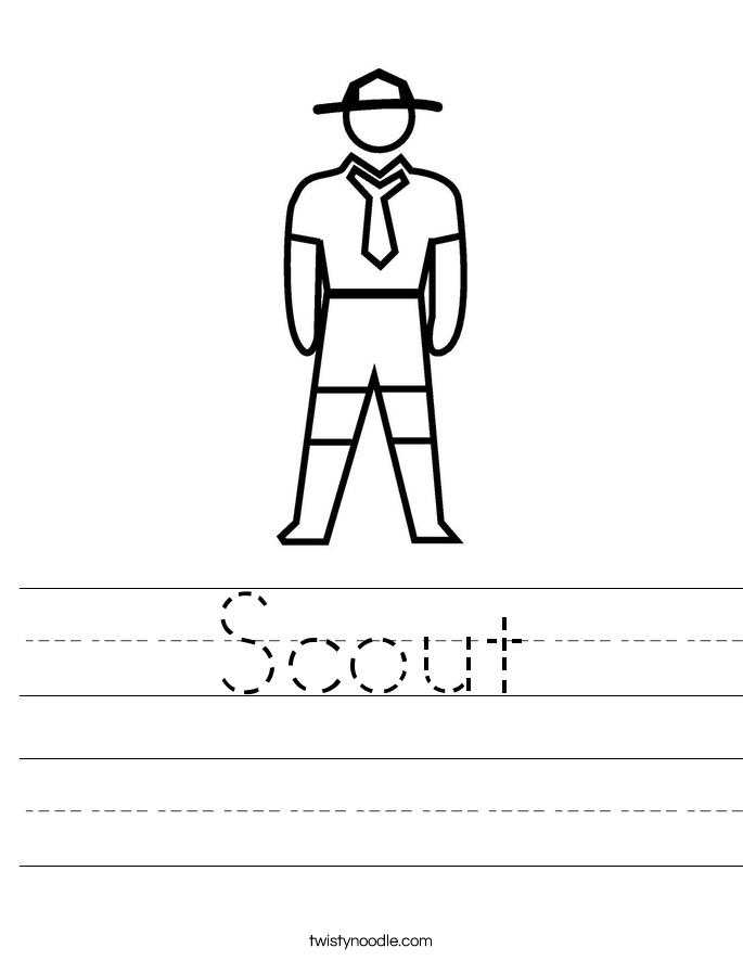 Scout Worksheet