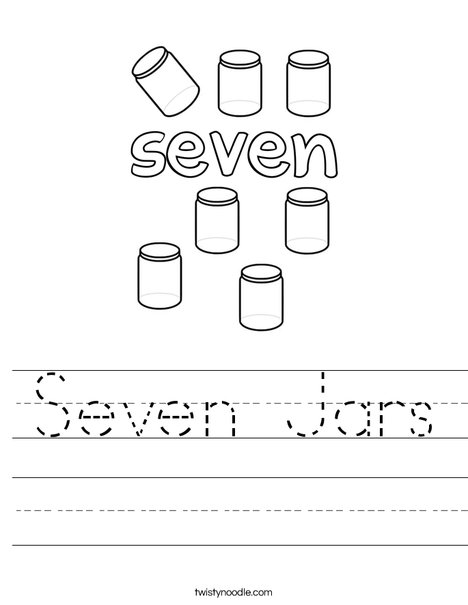 Seven Jars Worksheet