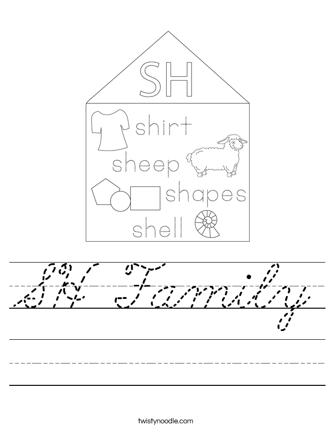 SH Family Worksheet
