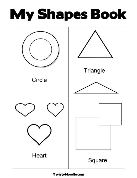 Shapes MS7 Fisher Price Coloring Pages
