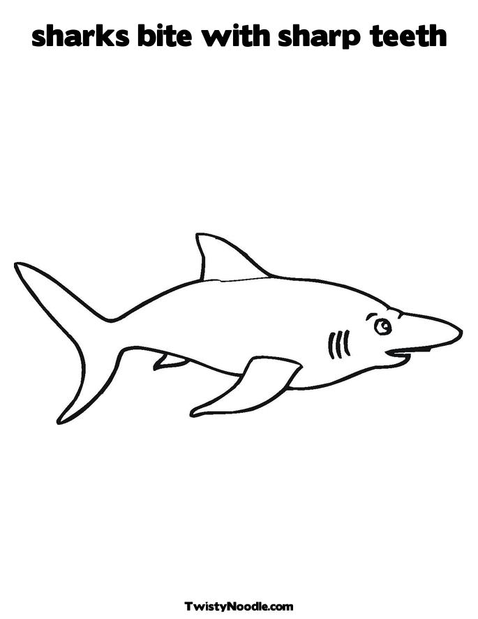 shark teeth template - shark teeth coloring pages sketch coloring page