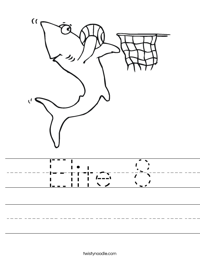 Elite 8 Worksheet