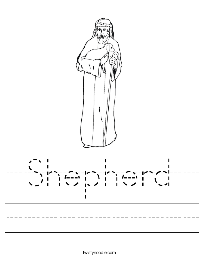 Shepherd Worksheet