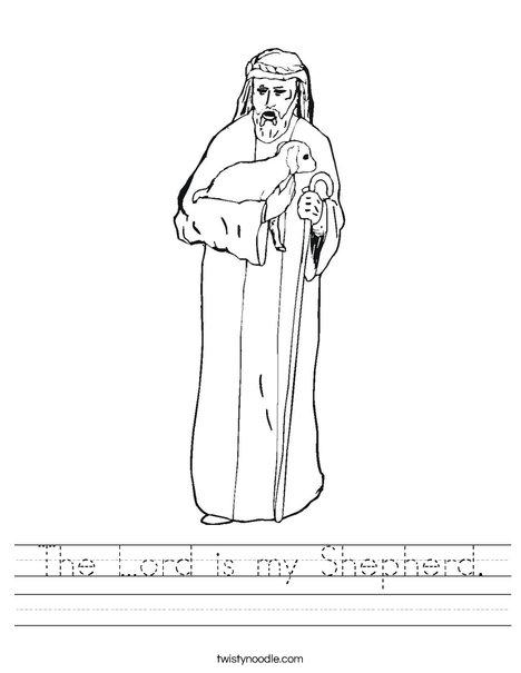 Shepherd Worksheet