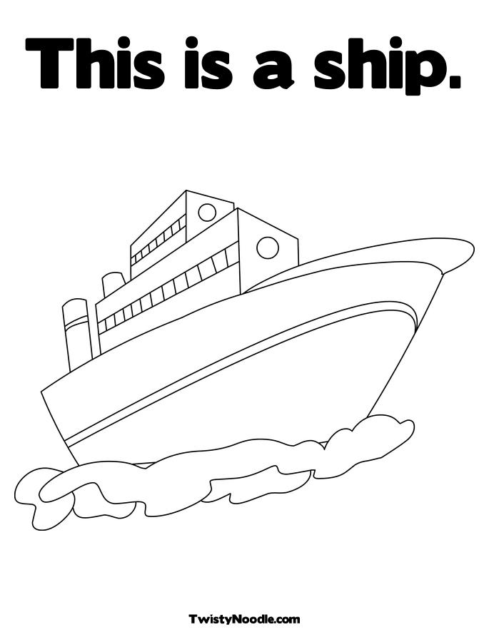 historic ship coloring pages - photo#30