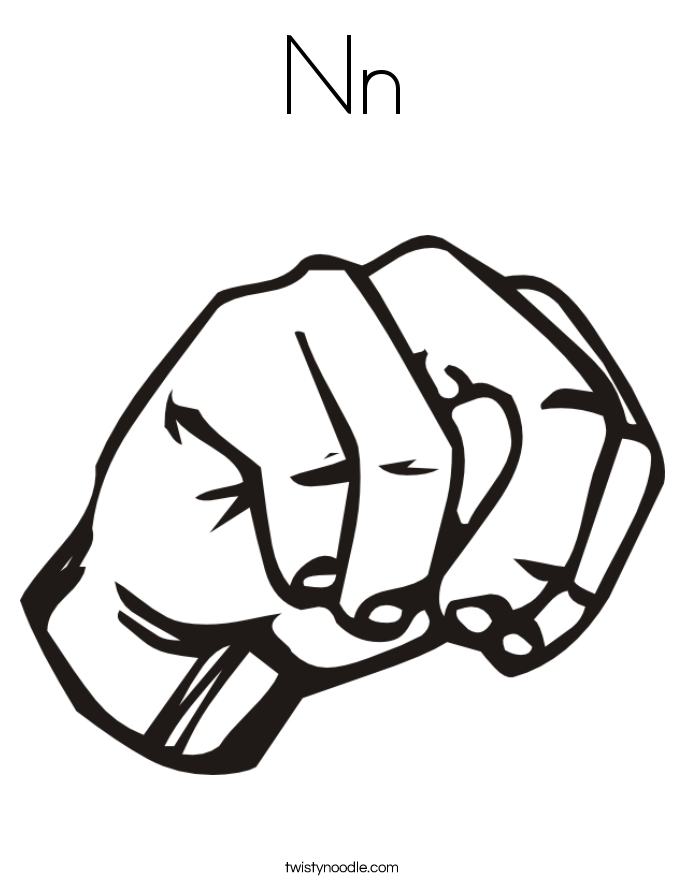 Nn Coloring Page